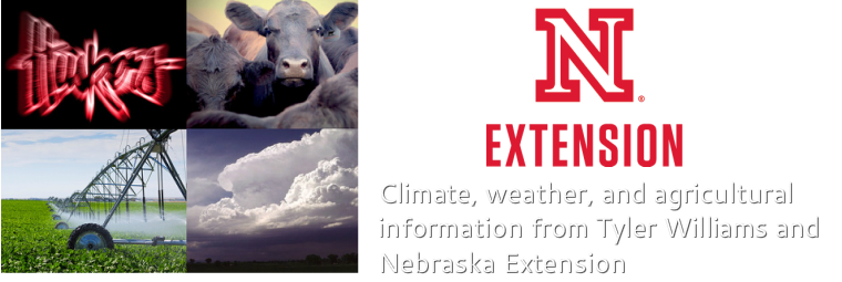 Climate, weather, and agricultural information for Nebraska